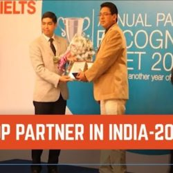 2012 'TOP PARTNER IN INDIA ' award from IDP