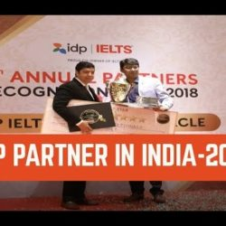 9th consecutive 'TOP PARTNER IN INDIA' award from IDP in 2017