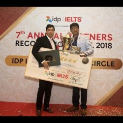 One More Jewel in Our Crown: Number 1 Business Partner of the Year in India Award from IDP