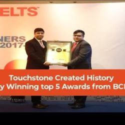 Touchstone created history by winning top 5 awards from BCD